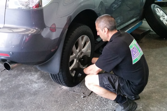 Tyres Fitting & Replacement Service